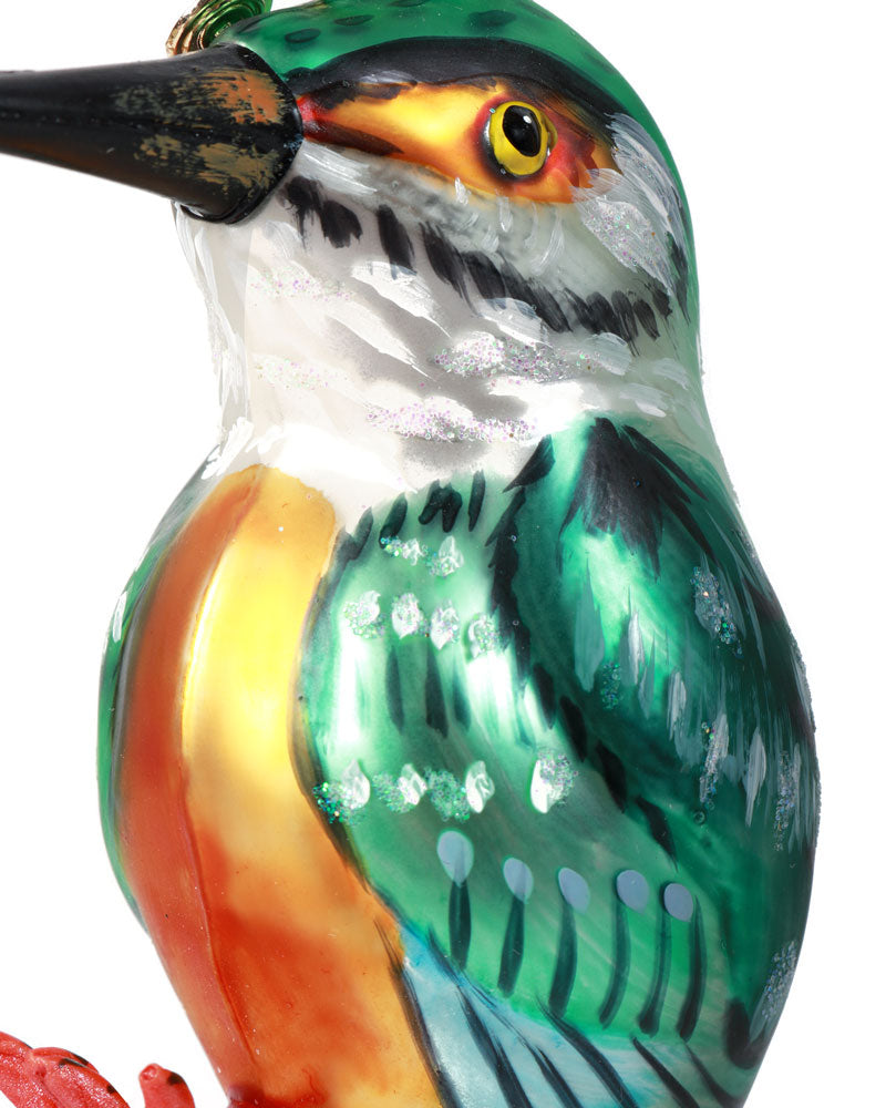 Nathalie Lété Kingfisher Ornament