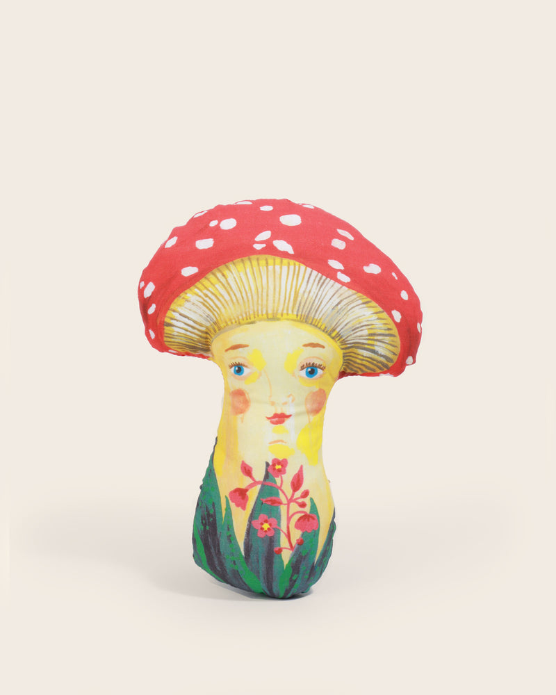 Load image into Gallery viewer, Nathalie Lete Mushroom Doll