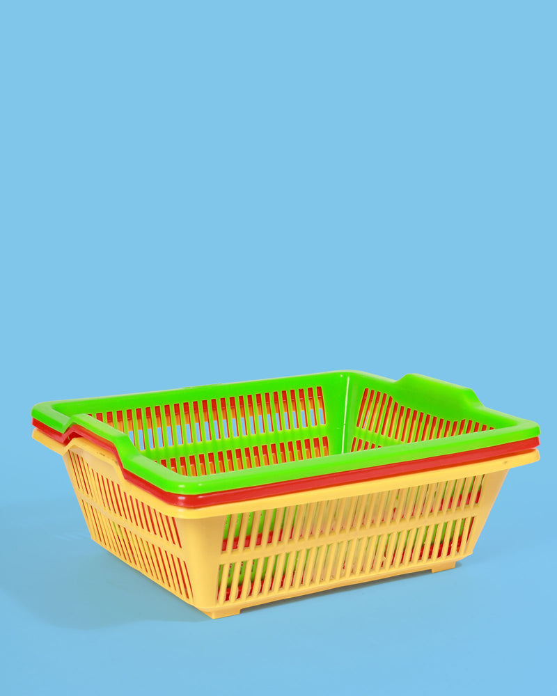 Large Storage Baskets, Set of 3 Assorted