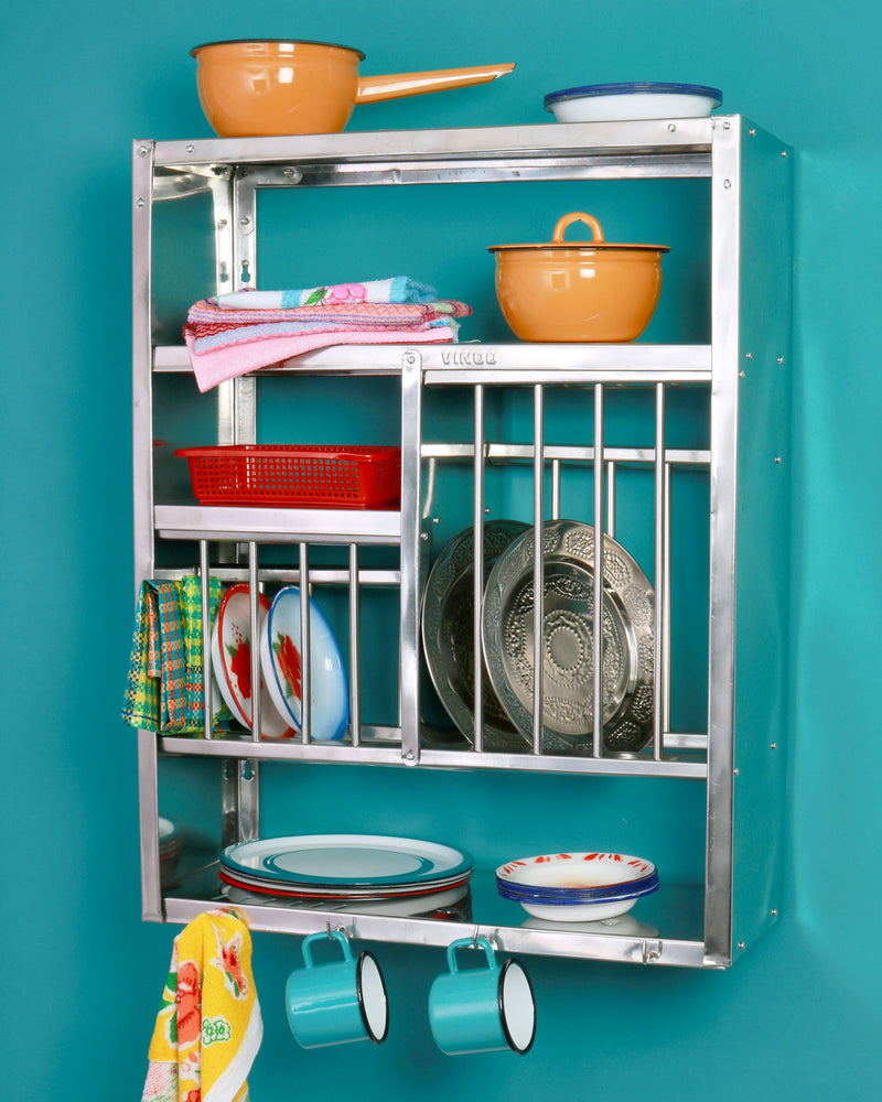 Indian Wall-Mounted Plate Rack