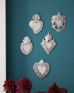 Embossed Wall Milagros Pair, Set Three