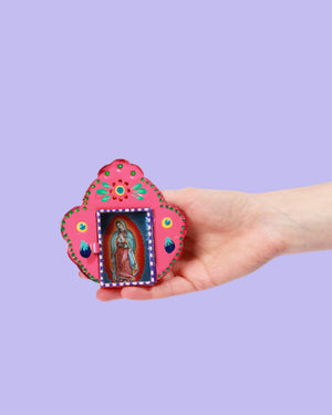Guadalupe Scallop Shrine, Pink