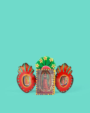 Guadalupe Triple Shrine, Red