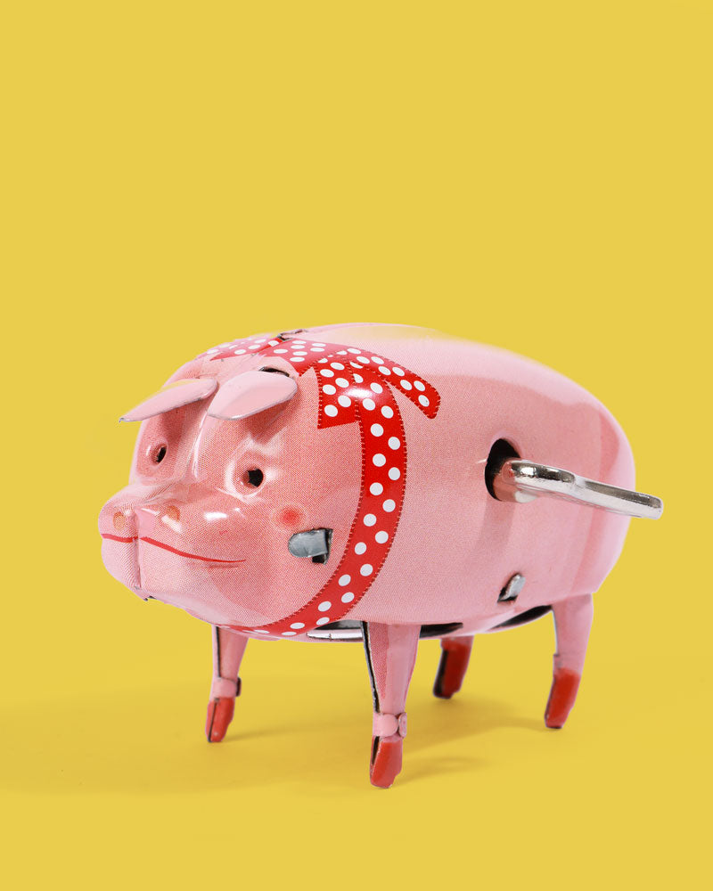 Polly Pig Tin Toy