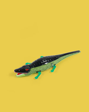 Load image into Gallery viewer, Crocodile Tin Toy