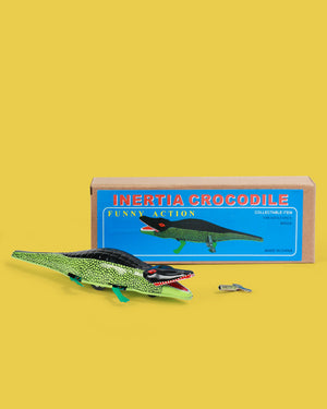 Crocodile Tin Toy
