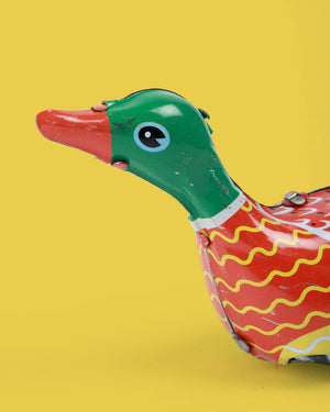 Load image into Gallery viewer, Duck Tin Toy