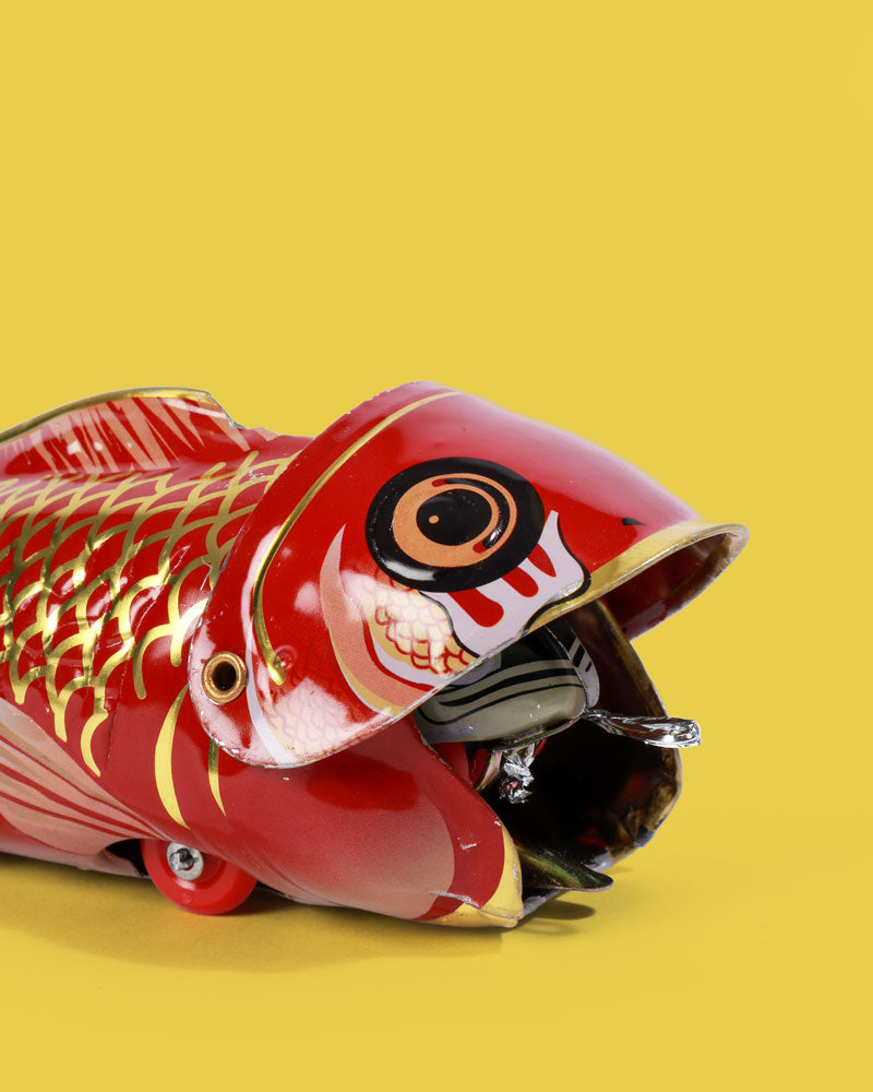 Fish Eat Fish Tin Toy