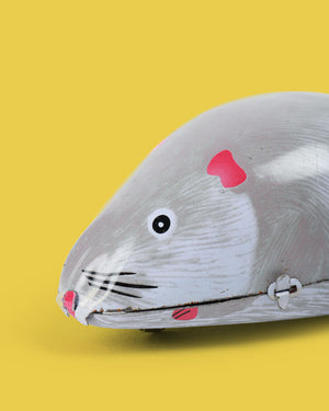 Wind-up Mouse Tin Toy