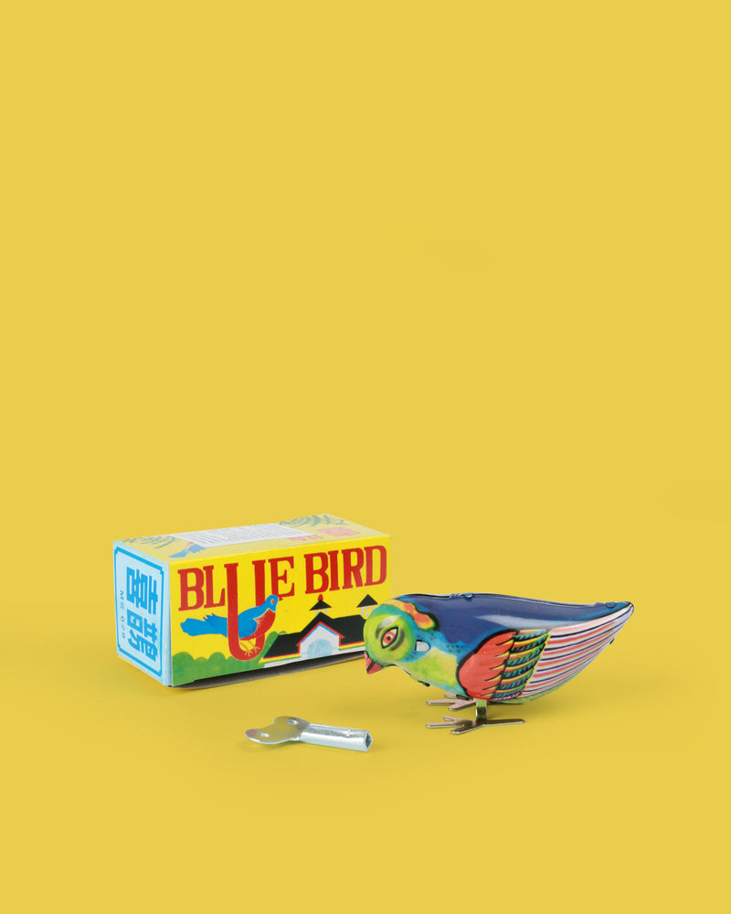 Blue Bird Tin Toy