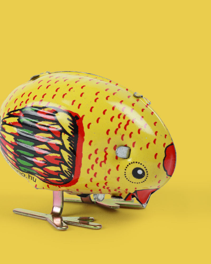 Pecking Chicken Tin Toy