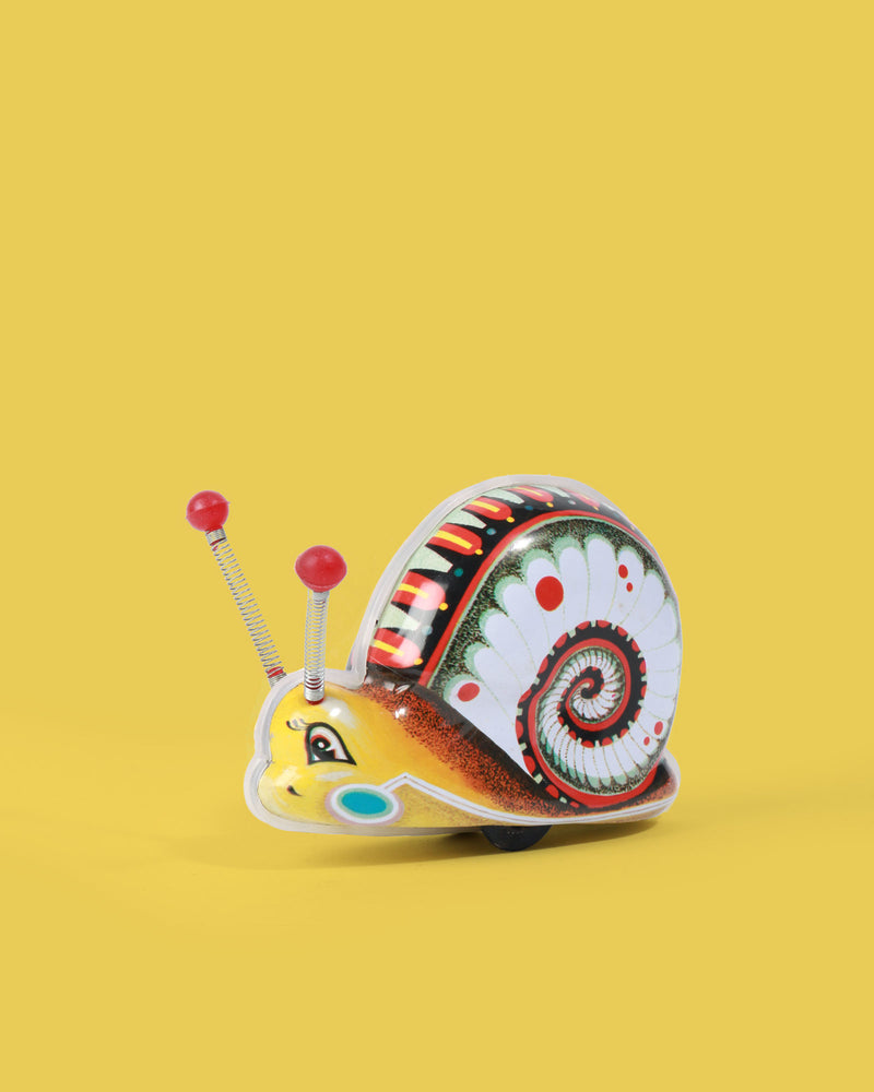 Snail Tin Toy