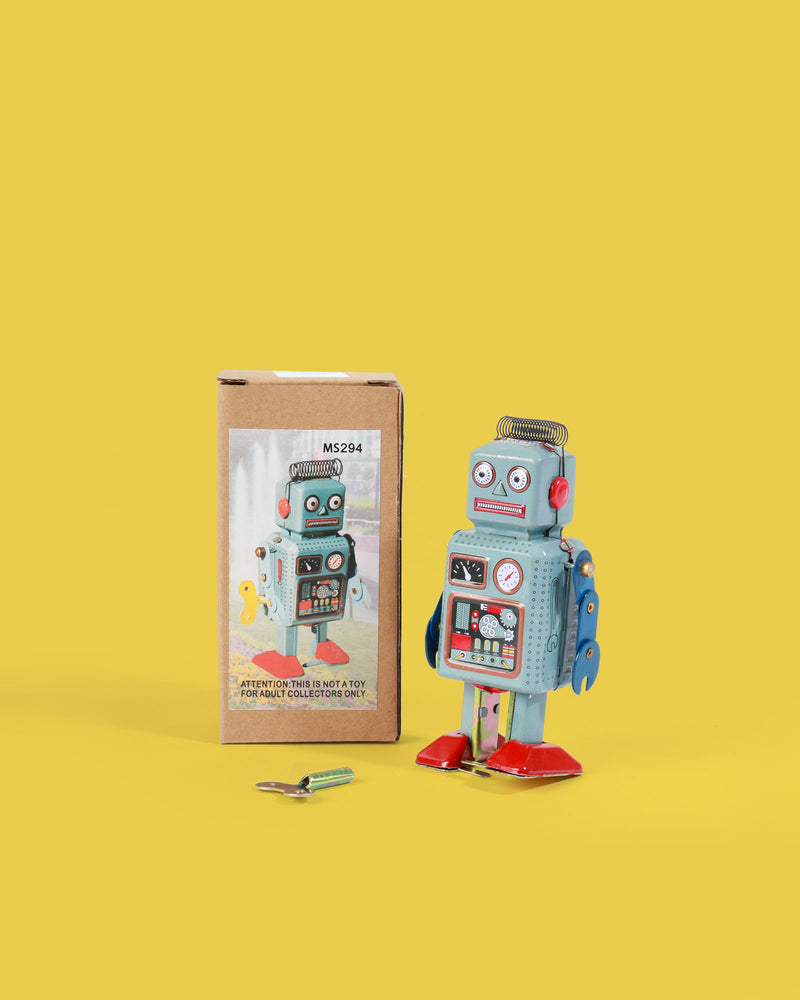 Load image into Gallery viewer, Tenderhead Robot Tin Toy