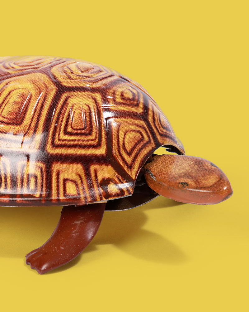 Tortoise Tin Toy