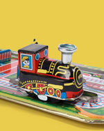 Cross Road Train Tin Toy