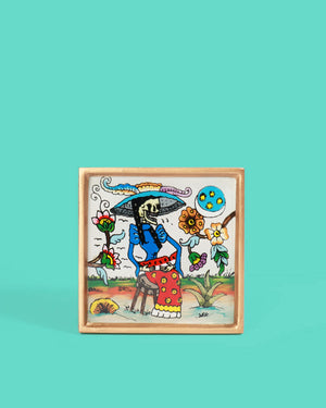 Load image into Gallery viewer, Catrina Folk Art Frame