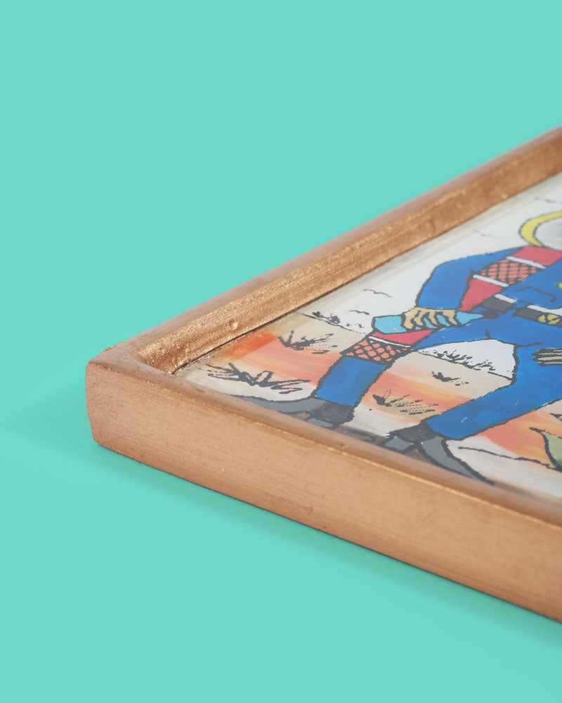 Load image into Gallery viewer, Serenade Folk Art Frame