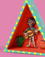 Guitar Player Retablo