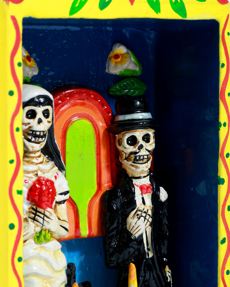 Tall Wedding Retablo