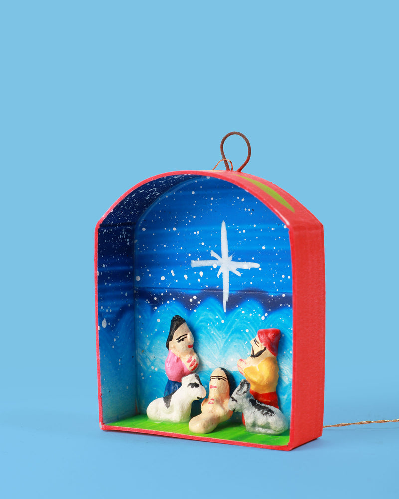 Hanging Nativity Scene Decoration