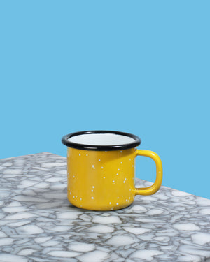 Load image into Gallery viewer, Enamel Espresso Mug, Yellow