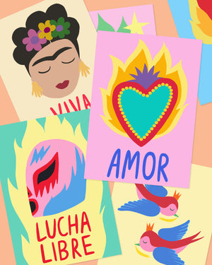 Load image into Gallery viewer, Wolfnoodle X Okla Amor Print