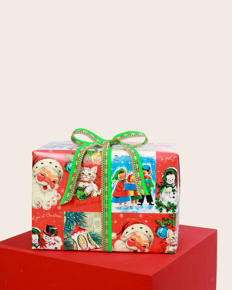 Load image into Gallery viewer, 'Vintage Christmas' Surprise Treat Box