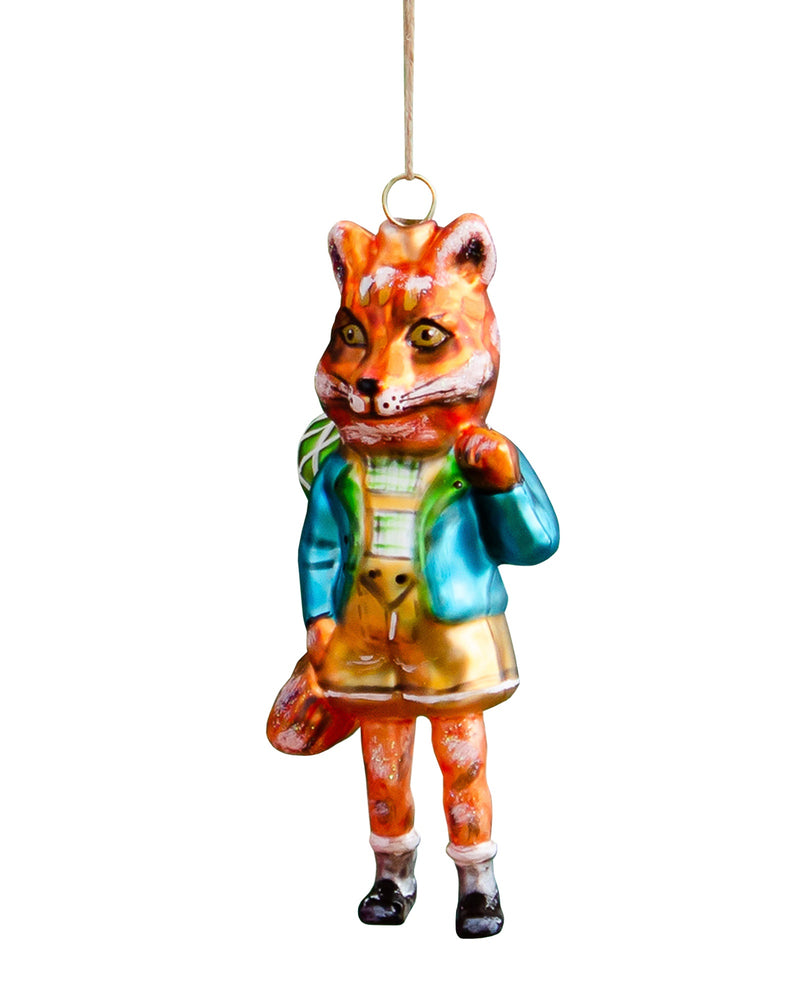 Load image into Gallery viewer, Nathalie Lété Woodland Fox Ornament
