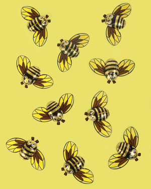 Mini Chocolate Bee, Set of 10
