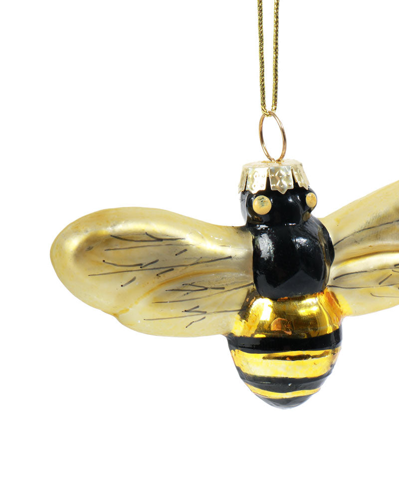 Load image into Gallery viewer, Golden Bee Bauble