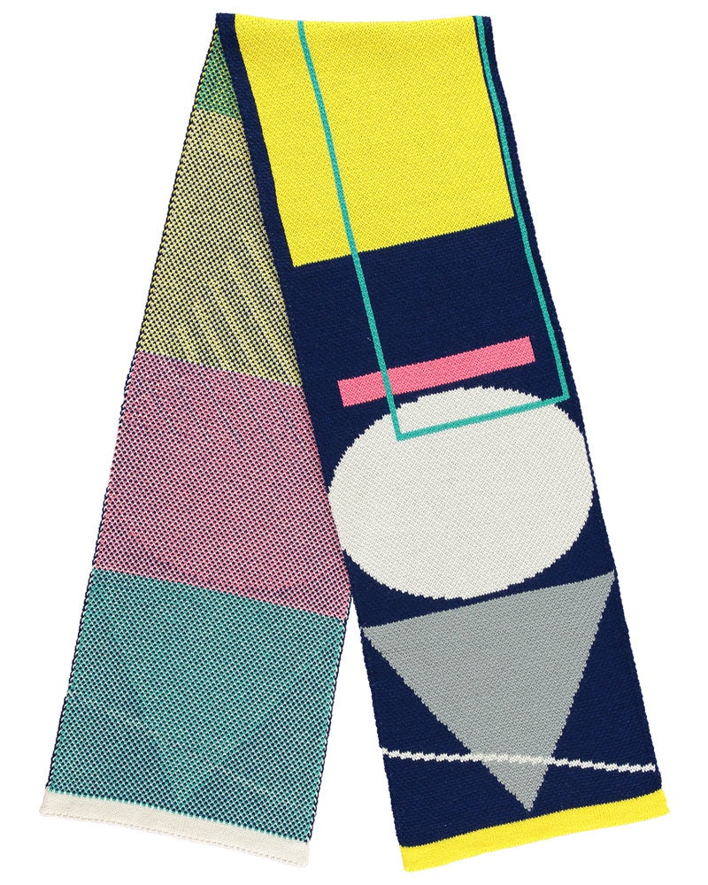 Geometric Shapes Scarf