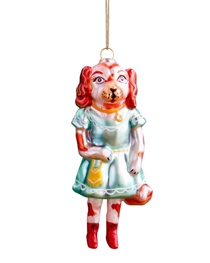 Nathalie Lété Dog Ornament, Cavalier King Charles
