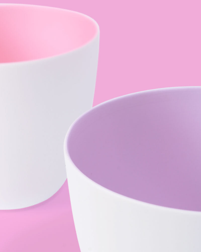 Pastel Tealight Holder, Set of 2