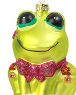 Retro Frog Ornament