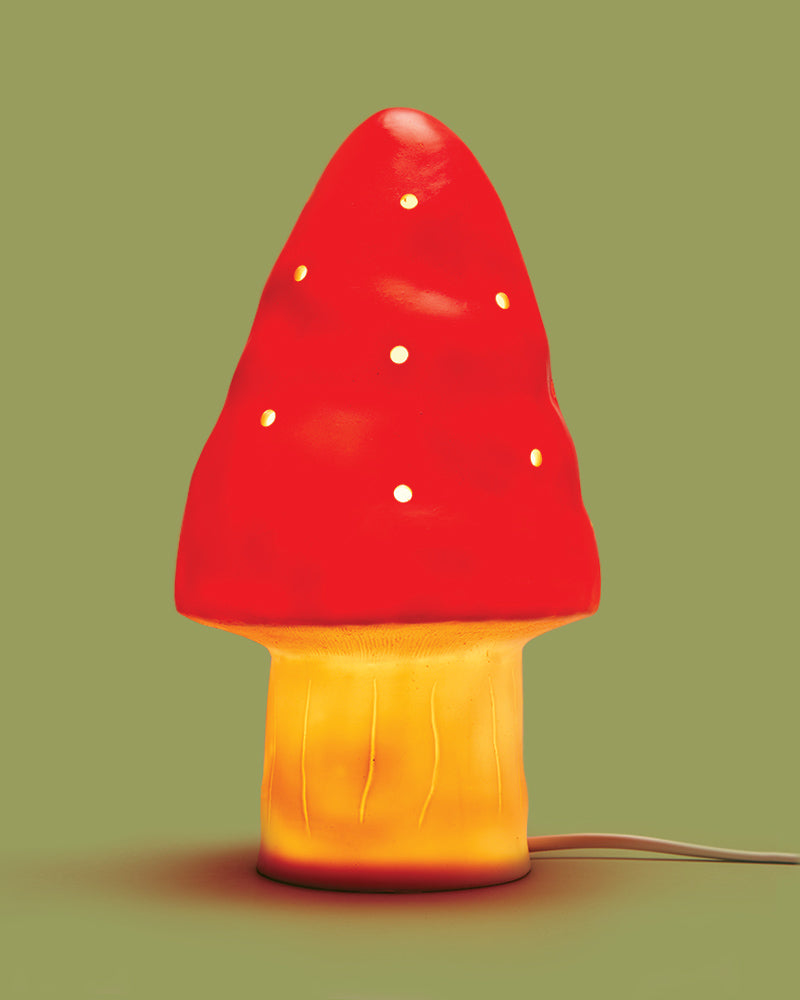 Woodland Toadstool Lamp