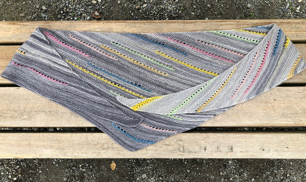 Prism Break Shawl Pattern