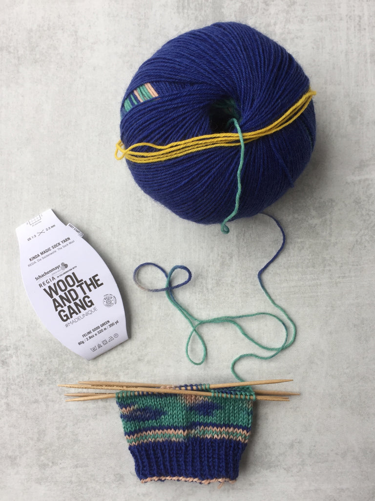 5 tips for working with Kinda Magic Sock Yarn from Wool and the Gang
