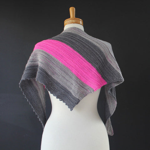 SHAWL : Bright Pink