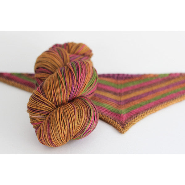 May Flowers | self-striping shawl yarn