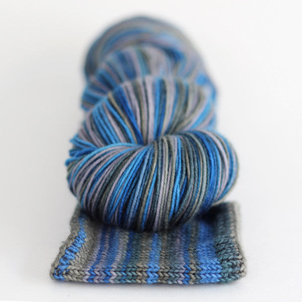 april showers | caterpillargreen self-striping yarn