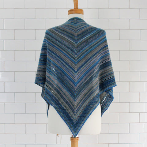 April Showers | self-striping shawl yarn