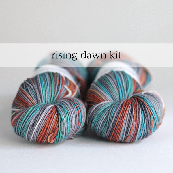 PRE-ORDER : SHAWL KIT : Rising Dawn