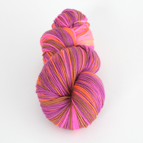 Margaritaville self-striping shawl yarn | Gauge