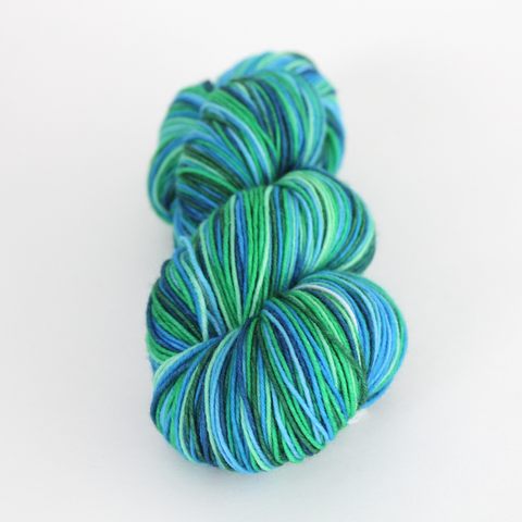 Sweet Baby James self-striping classic/sock yarn | Gauge