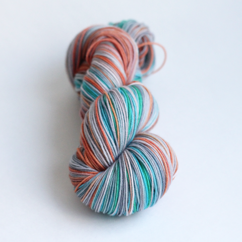 small batch 015 self-striping yarn
