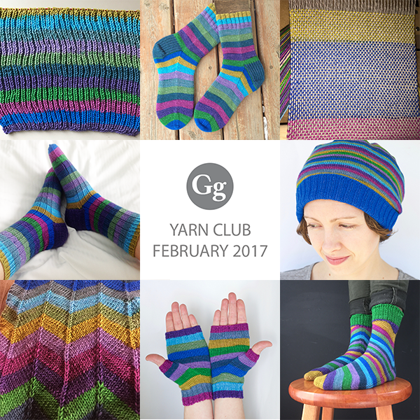 Yarn Club : Jan-Mar 2017