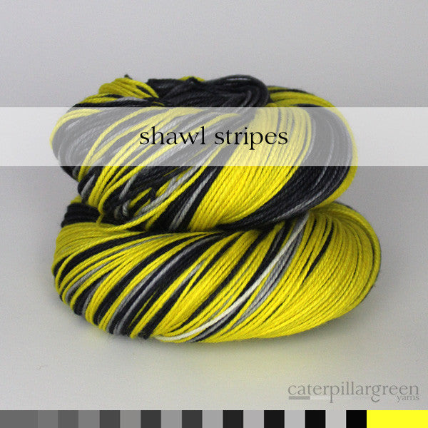 SHAWL : Fade to Yellow