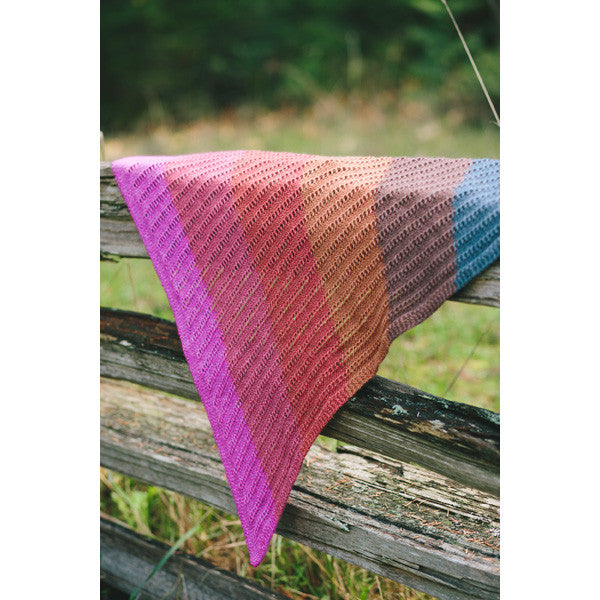 Ocean Sunset | self-striping shawl yarn