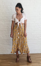 Load image into Gallery viewer, MARGOT MUSTARD SKIRT
