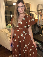 Load image into Gallery viewer, RUSTY WRAP DRESS